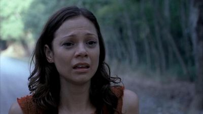 Tamara Braun as Marie-Louise LeBauve from the independent film 'Little Chenier.' In this scene Marie-Louise has just confronted her husband Carl (Jeremy Davidson) over her never-ending love for Beaux Dupuis (Johnathon Schaech). After the confrontation Carl speeds off in his police car to confront Beaux.